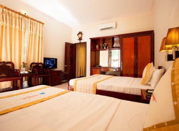 Không gian phòng nghỉ tại khách sạn Thiên Hải Sơn - Phú Quốc