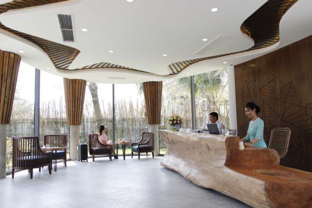 Sảnh tiếp khách trong khách sạn (Ảnh Collection)