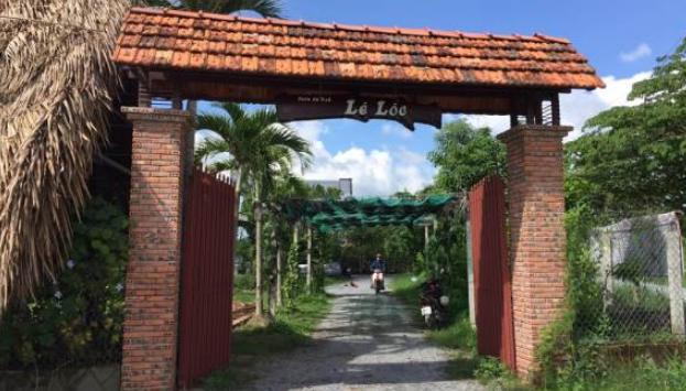 Cổng vào vườn sinh thái Lê Lộc (Ảnh Collection)