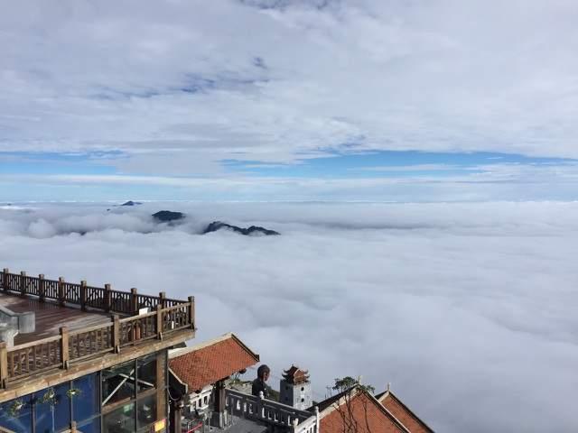 Được mệnh danh là thành phố trên mây, cáp treo Fansipan Legend chinh phục hầu hết du khách trong và ngoài nước