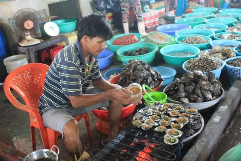 Hải sản tươi ngon của đảo khỉ