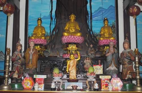Ngôi chùa sở hữu những pho tượng quý (Ảnh ST)