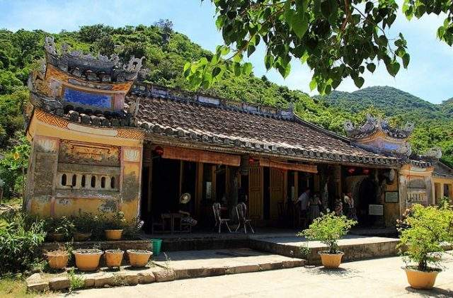 This place is one of the few places in Da Nang that still preserves many cultural features from ancient times (Photo ST).