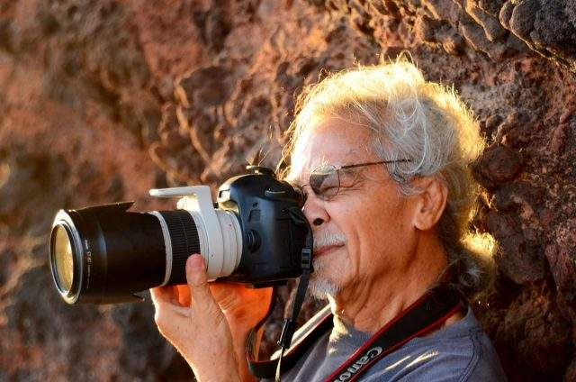 The photographer freely immersed himself in the beautiful scenes (Photo collection)