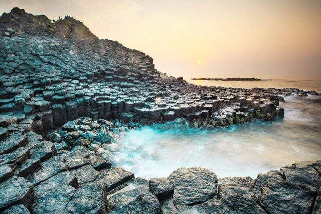 The Creator has worked hard to arrange the hexagonal stones to keep on overlapping into many unique shapes (Photo Collection)