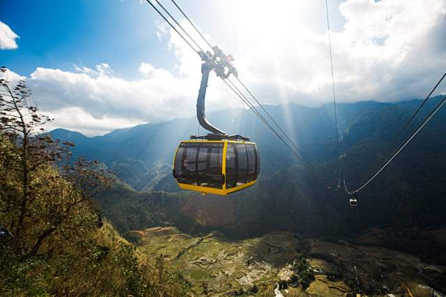 Notes on Fansipan cable car